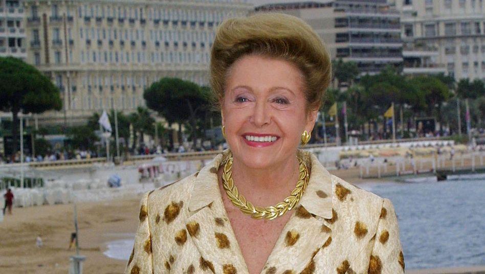 Mary Higgins Clark, hier 2001 in Cannes, schrieb meist ein Buch pro Jahr. Sie starb mit 92 Jahren.