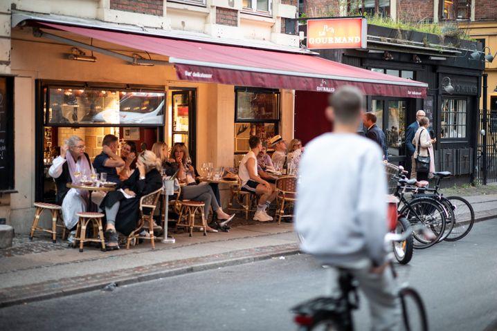 Kopenhagen bei Tag: Auch hier ist die Maske weg