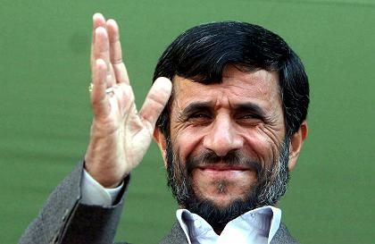 "Iranian President Mahmoud Ahmadinejad: ""By siding with Iran, the Europeans would serve their own and our interests."""