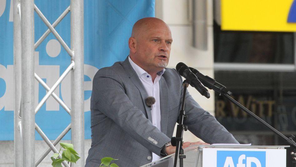 AfD-Politiker Komning in Neubrandenburg: In ein falsches Licht gerückt?