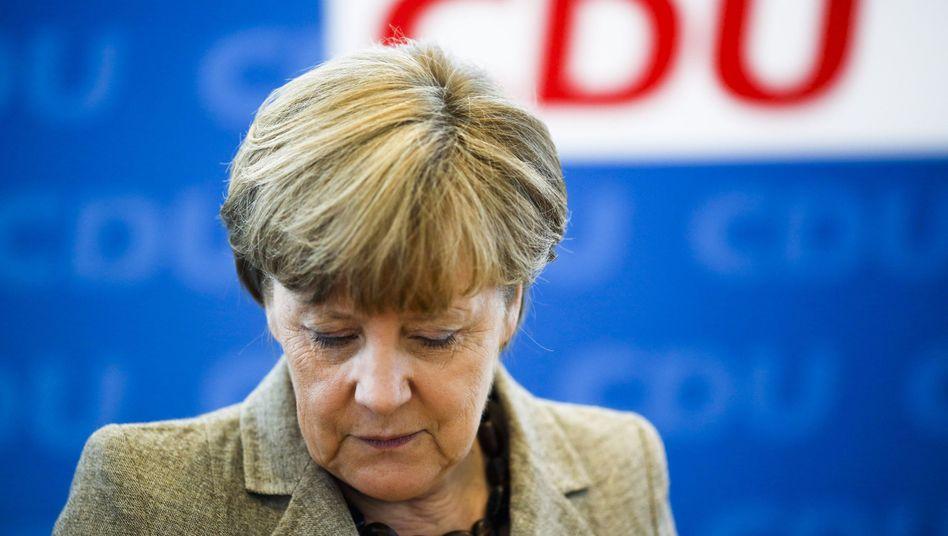 Angela Merkel am Montag: E-Mail von einer gefakten Hotmail-Adresse