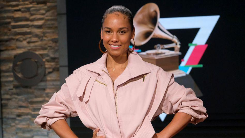 Sie sei sehr bodenständig, sagt Alicia Keys über sich selbst