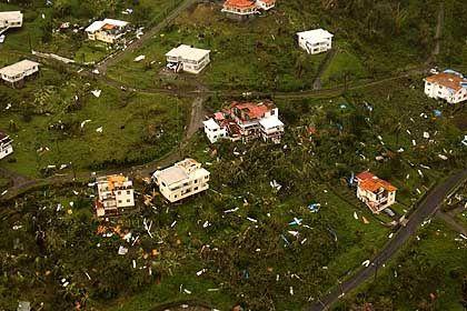 """Zerstörungen auf Grenada: """"Jenseits aller Vorstellungskraft"""""""