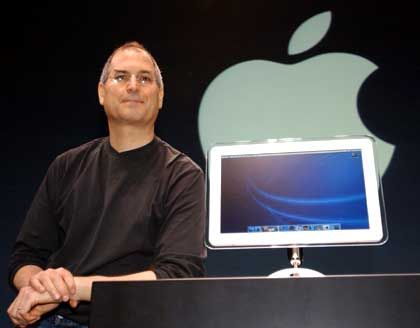 Apple-Chef und -Guru Steve Jobs : Bälle flach vor der Macworld