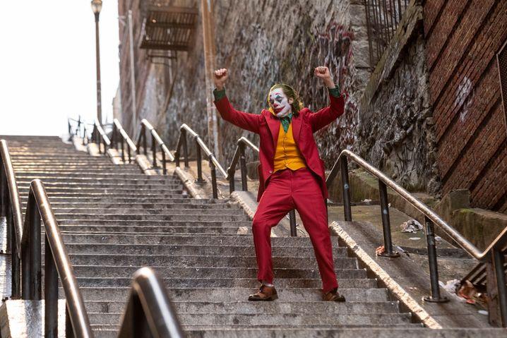 Joaquin Phoenix als Joker im gleichnamigen Film von Todd Phillips