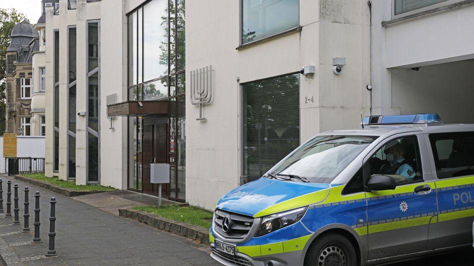 Synagoge in Bonn am Mittwoch