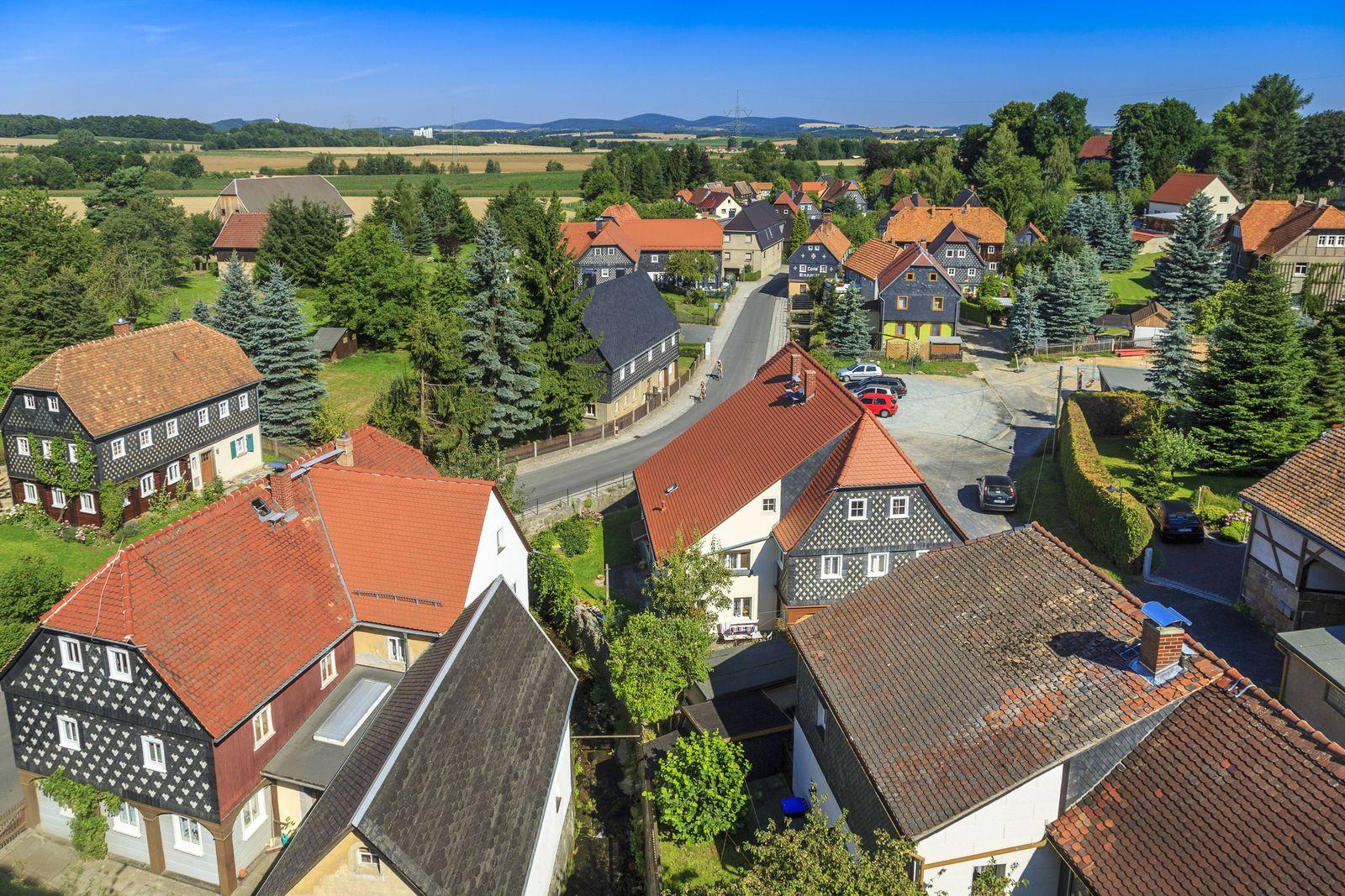 EINMALIGE VERWENDUNG Obercunnersdorf/ Oberlausitz
