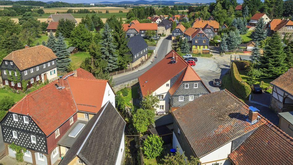 Obercunnersdorf, Landkreis Görlitz: Schön hier - trotzdem verlassen viele junge Menschen die Region