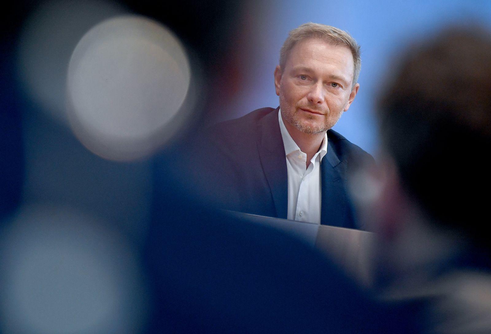 FDP-Vorsitzender Christian Lindner - Lage