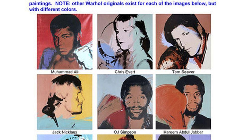 Andy-Warhol-Werke: Millionenschweres Diebesgut