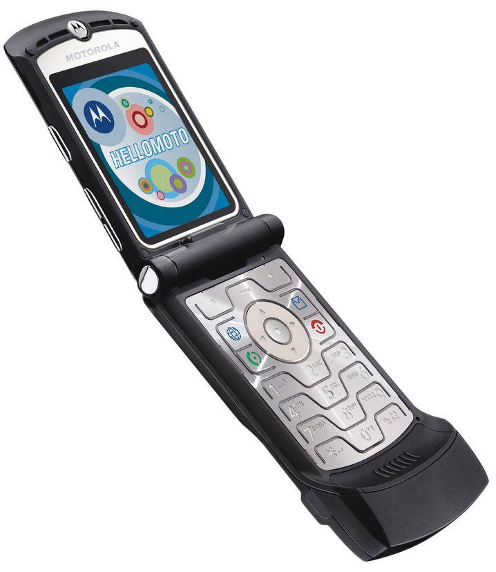 Eines der meistverkauften Handys der Welt: Das Motorola Razr V3