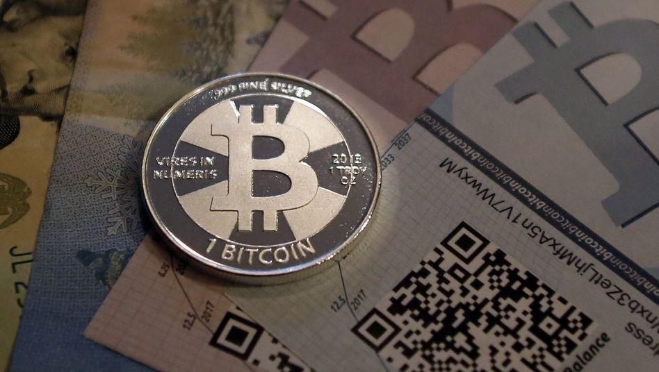 Bitcoin (Symbolbild): China will den Handel verbieten