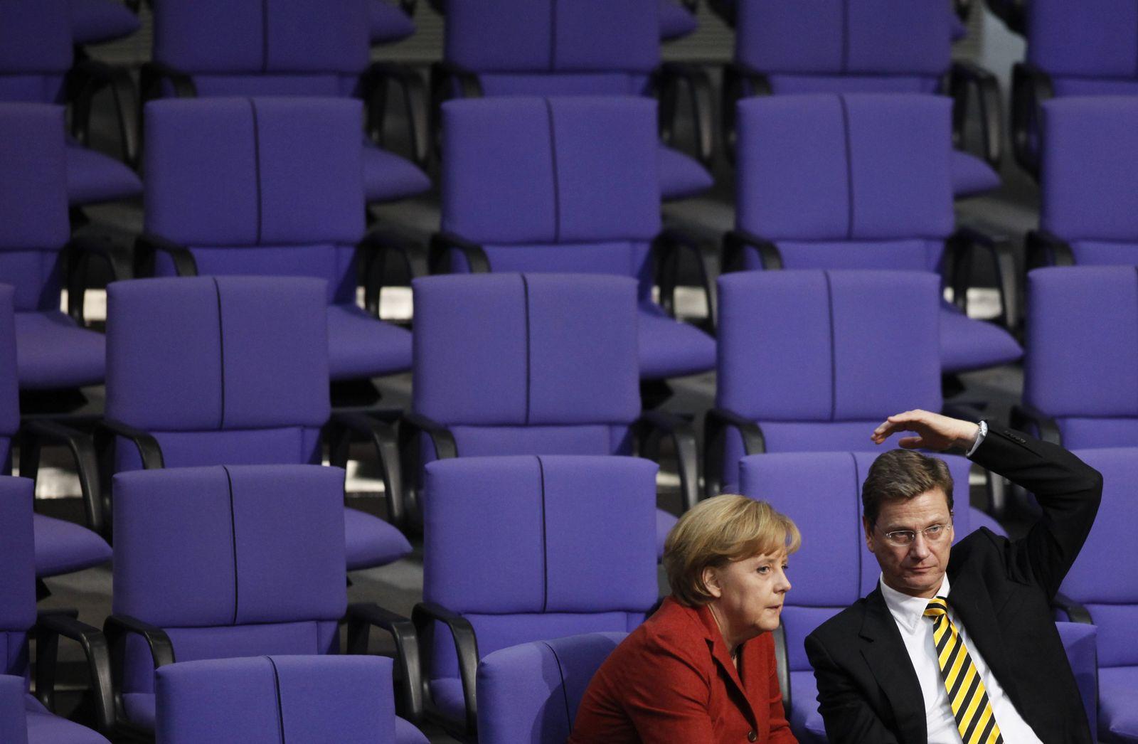 Merkel 2008/ Westerwelle