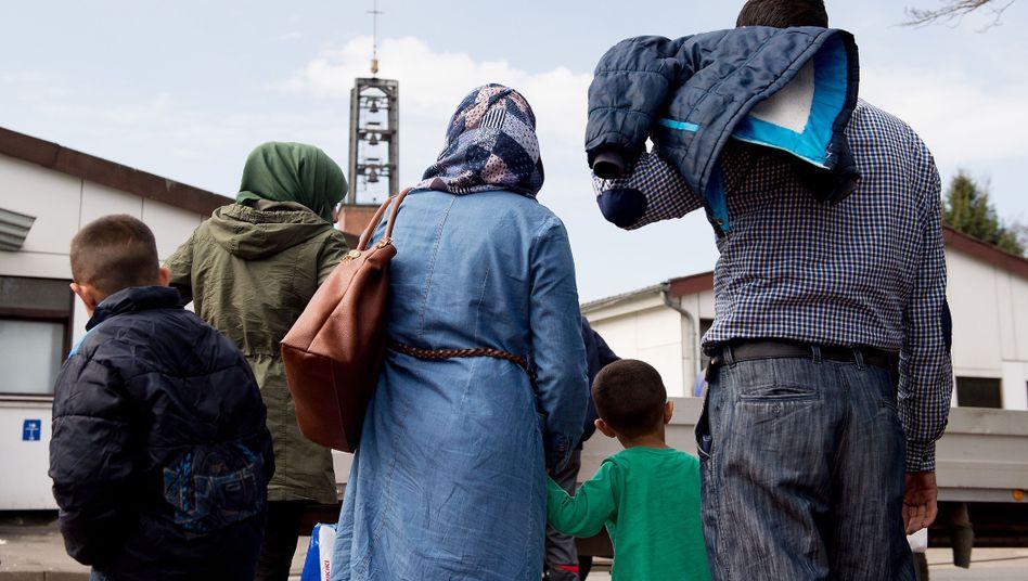 Syrische Flüchtlinge in Niedersachsen (Archiv)