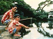 Kikujiro und Masao beim Angeln