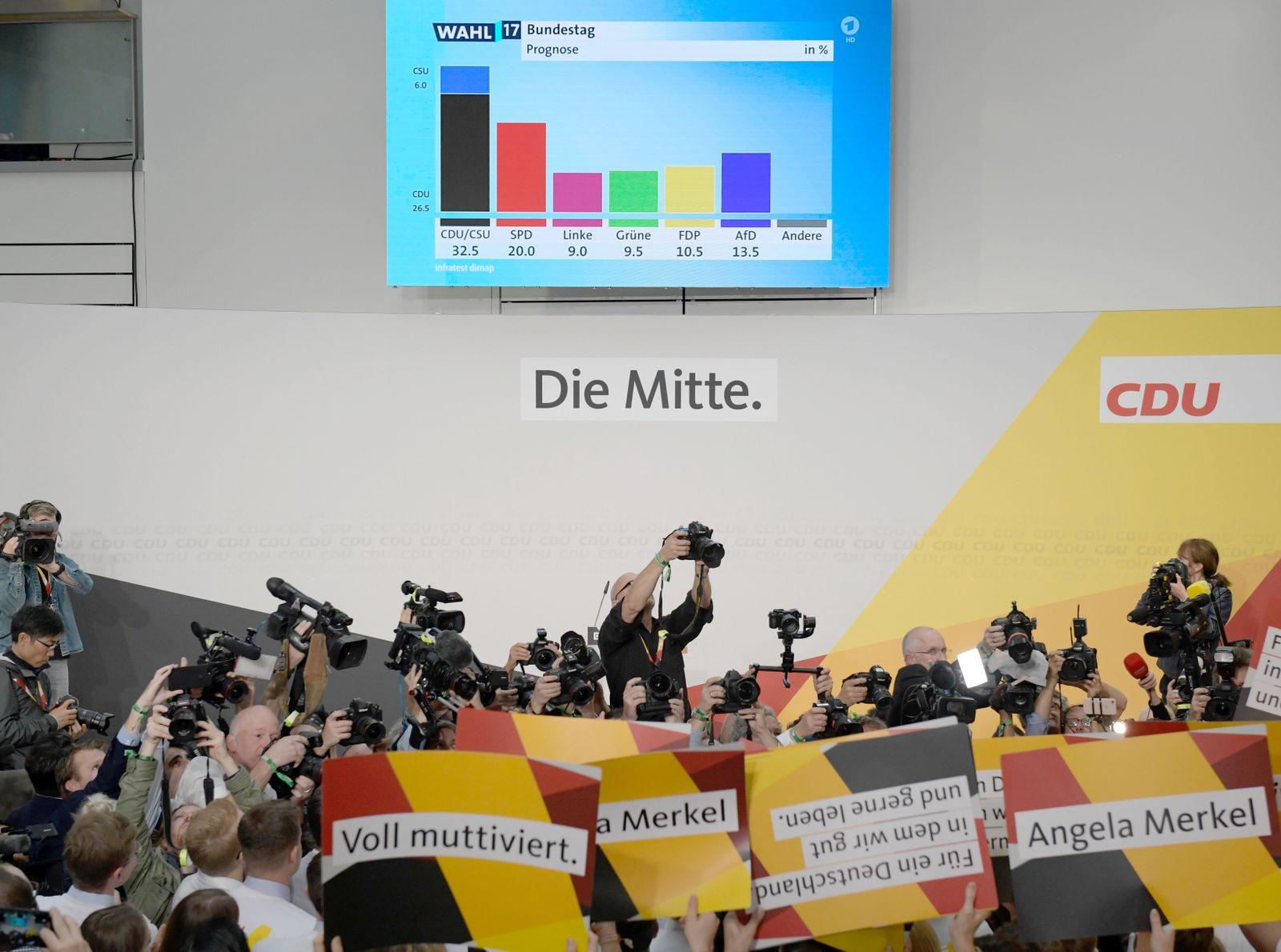 Deutschland/ Wahl/ Presse