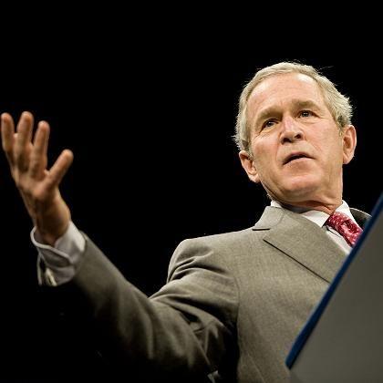 US-Präsident Bush: Empfindlicher Misstrauensbeweis