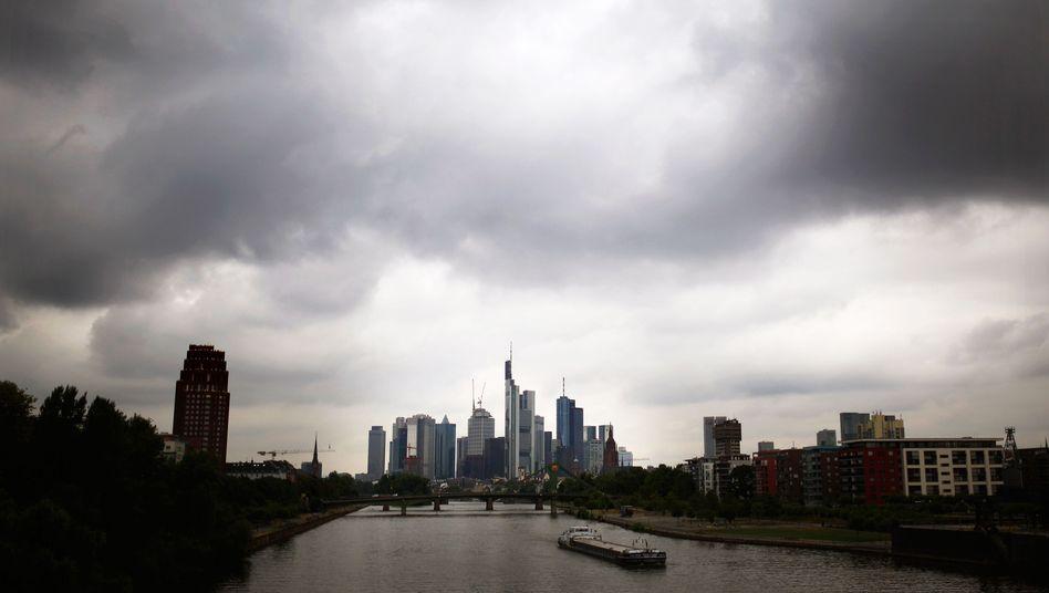 Banken-Skyline in Frankfurt: Verdacht auf schlechte Beratung