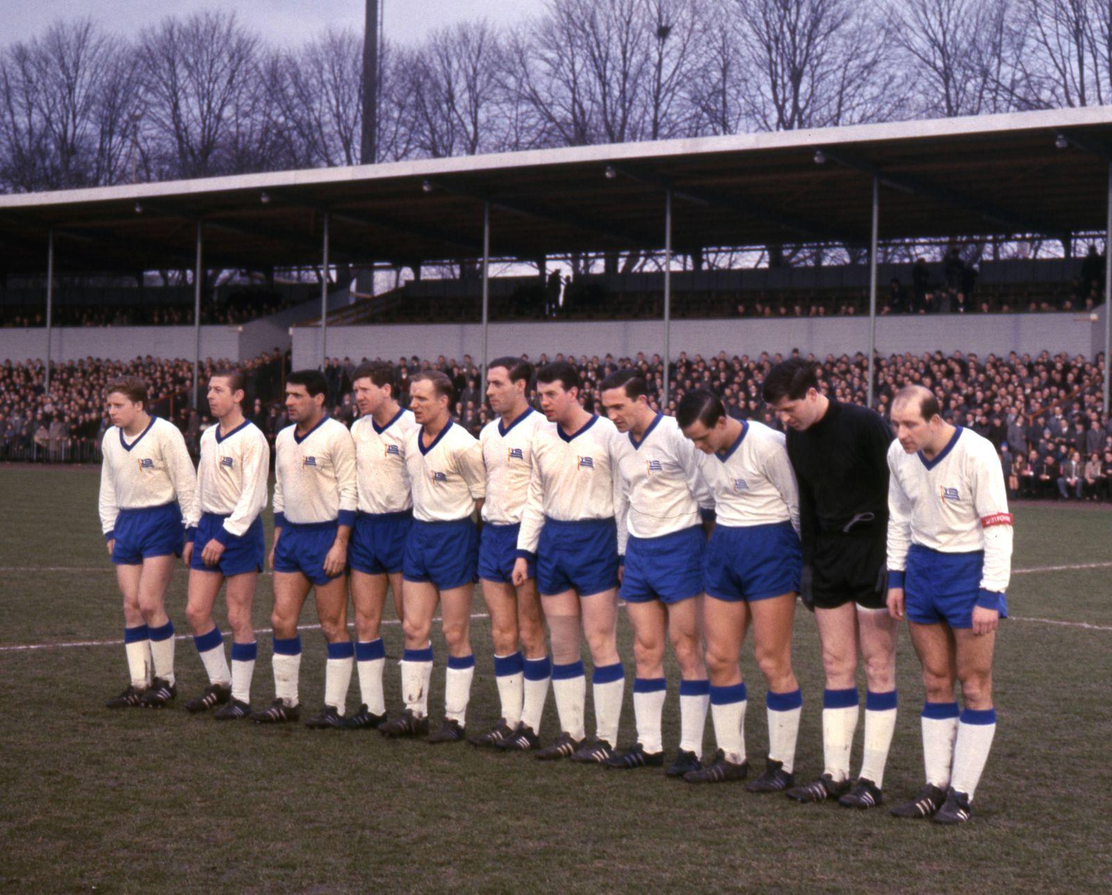 11er Mannschaft Tasmania Berlin Saison 1965 66 20 01 1966 HM