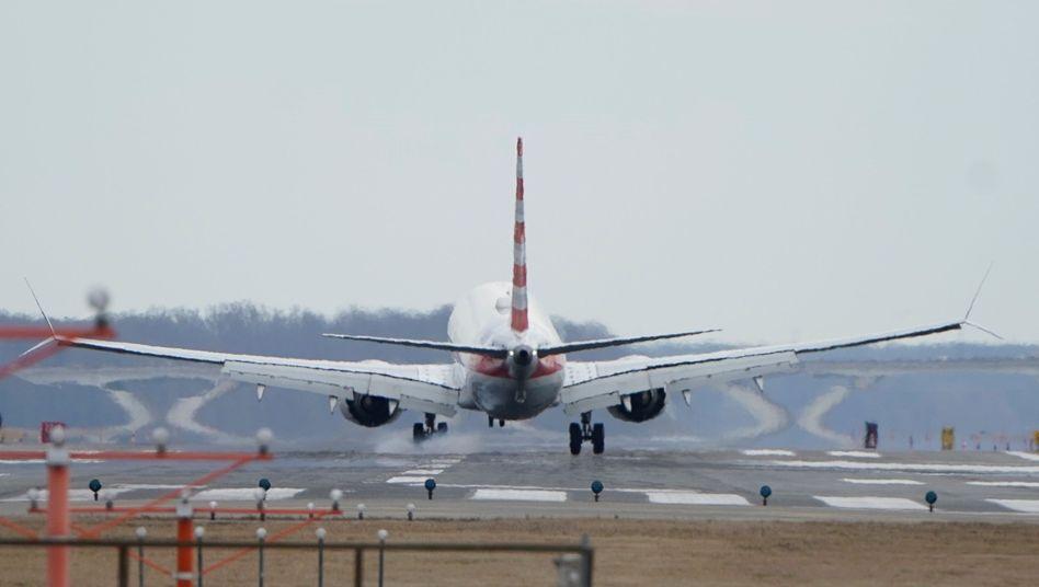 Boeing-Maschine von American Airlines