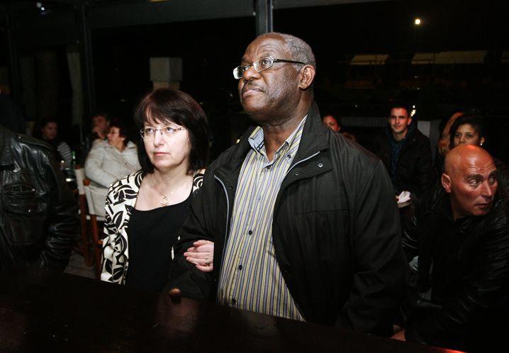 Bürgermeister Bossman mit seiner Frau