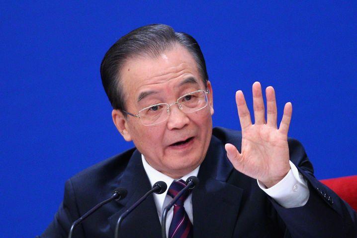 China's Premier Wen Jiabao wants oil.