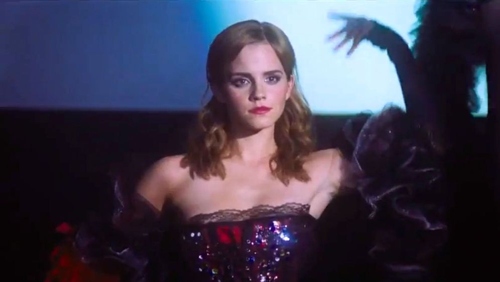 """""""Harry Potter"""" war einmal: Emma Watson verführt als Burlesque-Tänzerin"""
