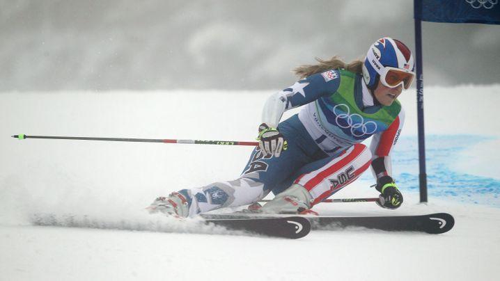Superstar Lindsey Vonn: Vierter Start, zweiter Sturz