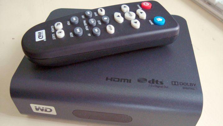 HD-Mediaplayer fürs Wohnzimmer: WD TV Live