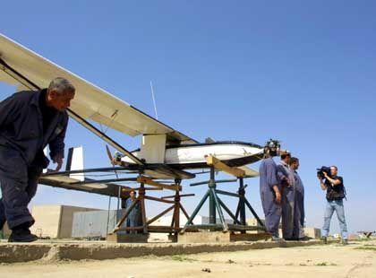 Irakische Drohne: Für den Einsatz biologischer und chemischer Waffen nicht geeignet