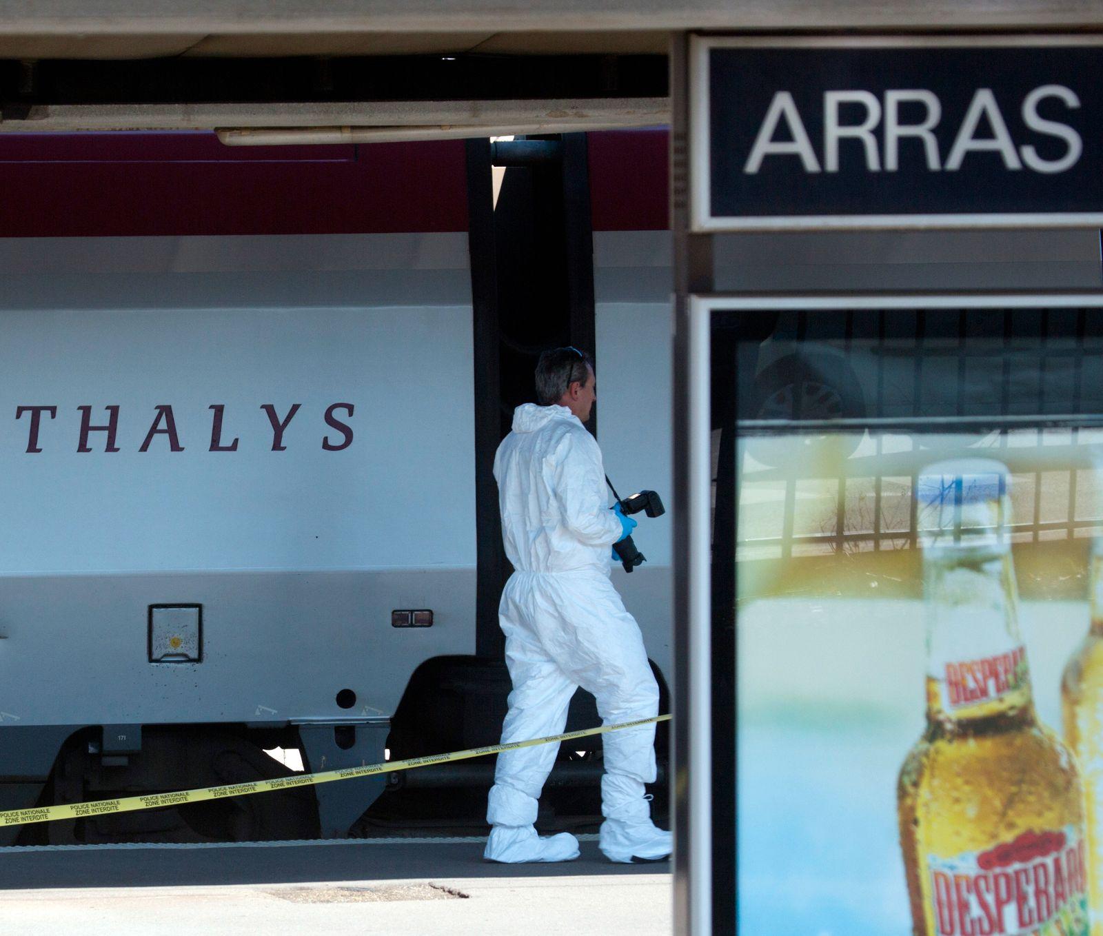 France Train Attack Trial