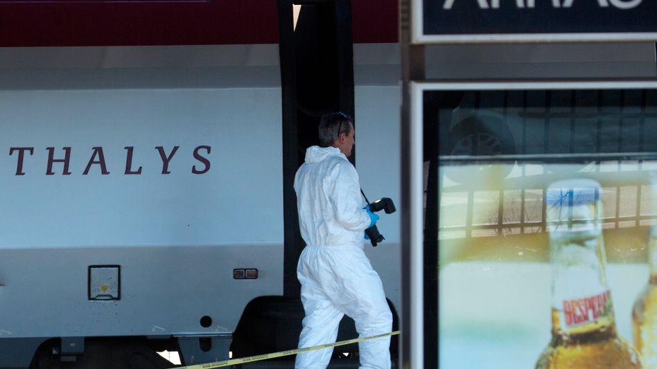 Forensiker am Thalys-Zug (Archivfoto)