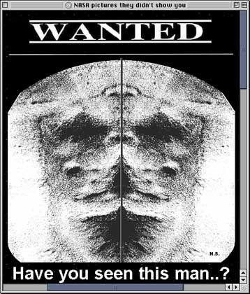 Gesicht auf dem Mars: Hallo Nachbar?