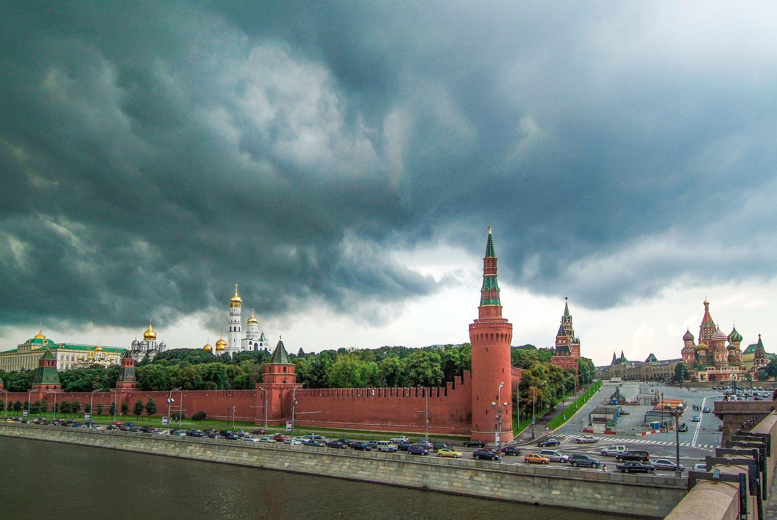 EINMALIGE VERWENDUNG Kreml/ Moskau/ Russland