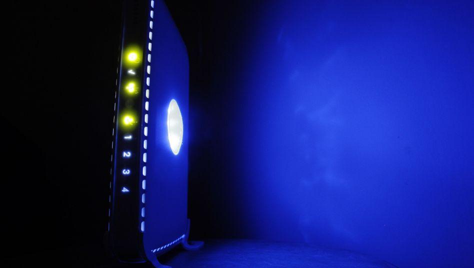 W-Lan-Router (Symbolbild): Tausende IP-Adressen gefunden