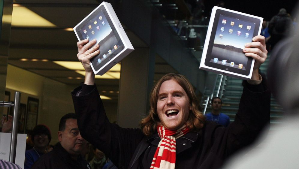 iPad-Hype: Apple-Fans stürmen die Geschäfte