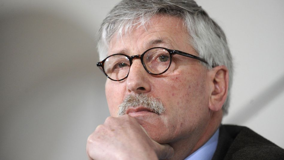 Thilo Sarrazin is a controversial figure in Germany because of his opinions about Muslims.