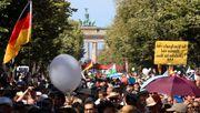 Corona-Demo in Berlin darf stattfinden