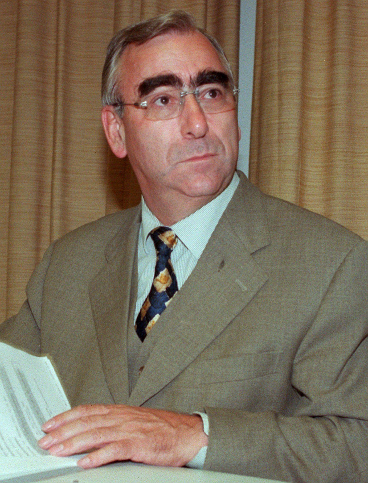 Finanzminister / Theo Waigel