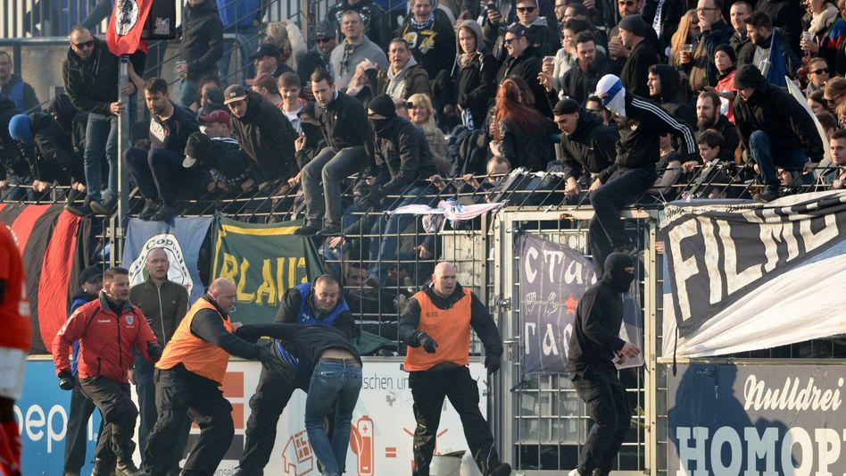 Fans des SV Babelsberg