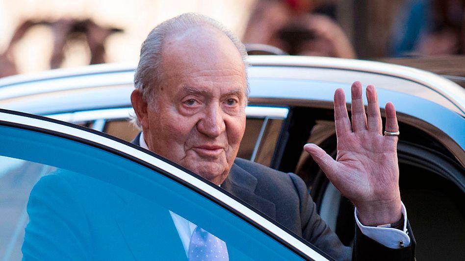 Der ehemalige König von Spanien, Juan Carlos, im Jahr 2018