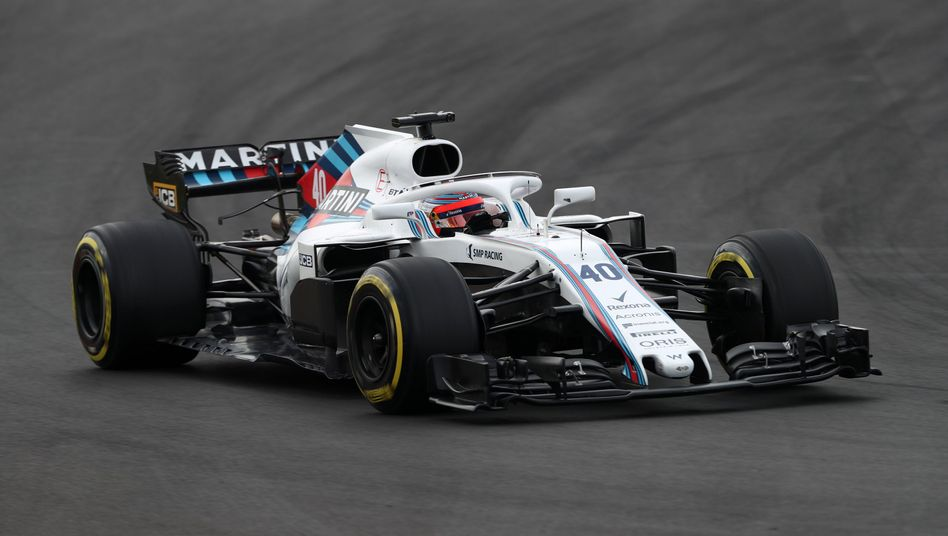 Williams-Auto aus der Vorsaison