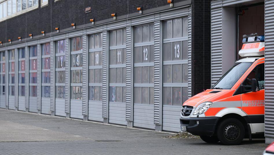 Rettungswagen der Feuerwehr Offenbach: »Entscheidung kann auf längere Sicht die Feuerwehrwelt verändern«