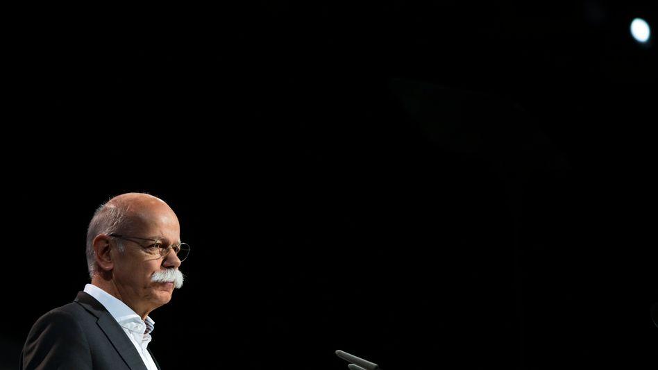 Daimler-Boss Dieter Zetsche