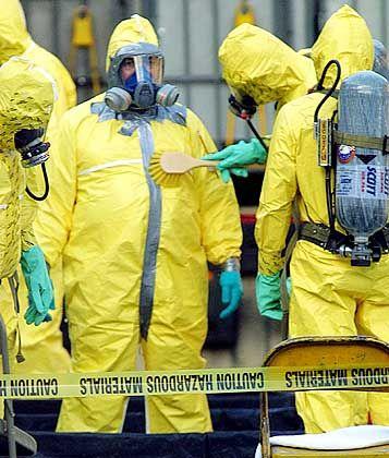 Biowaffen-Einsatzkommando: Wochen der Panik in den USA