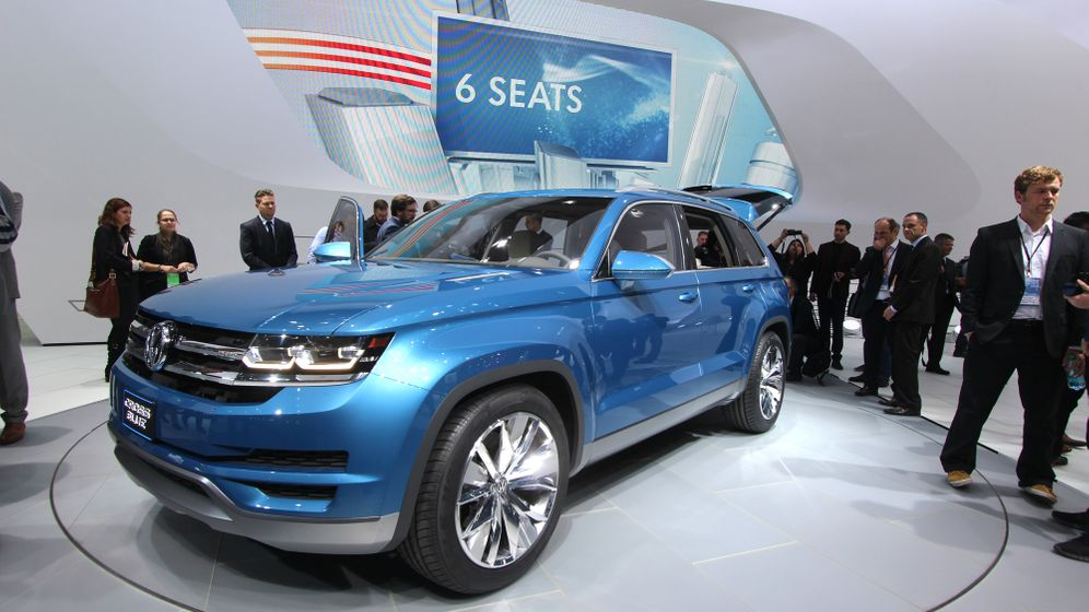 SUV-Studie VW Cross-Blue: Bigger und dicker