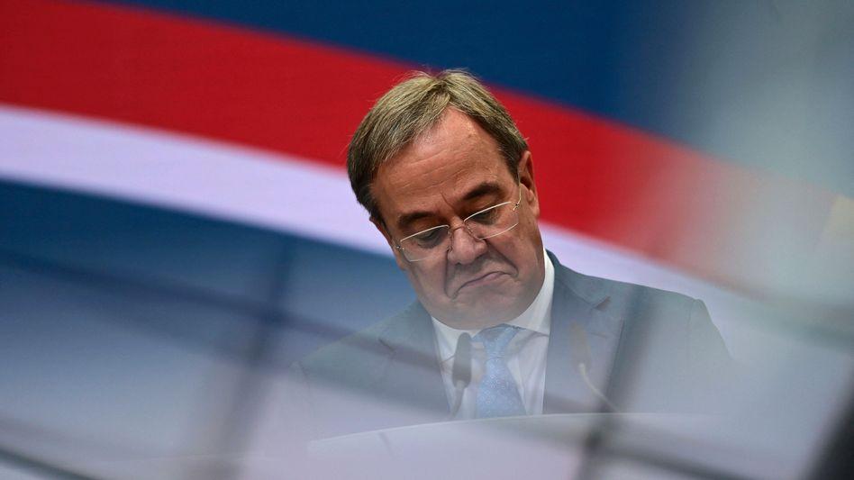 Armin Laschet in der CDU-Zentrale