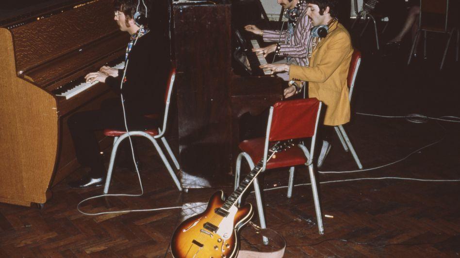 Die Beatles im Studio