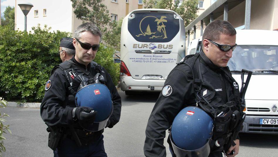 Polizeieinsatz in Südfrankreich