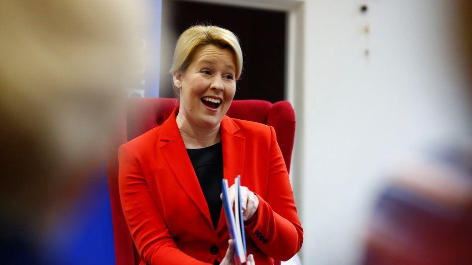 Berliner SPD-Spitzenkandidatin Giffey